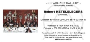 Invitation Robert KETELSLEGERS