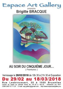 Affiche Brigitte BRACQUE