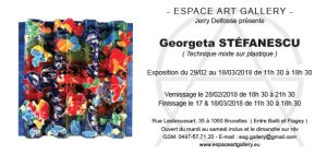 Invitation Georgeta STÉFANESCU