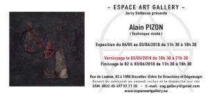 Invitation Alain PIZON