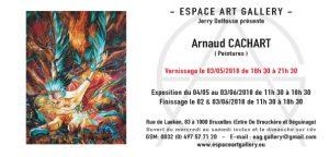 Invitation Arnaud CACHART