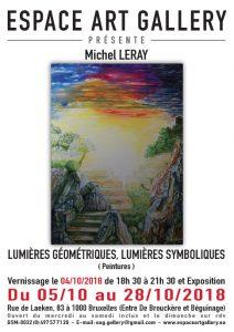 Affiche Michel LERAY