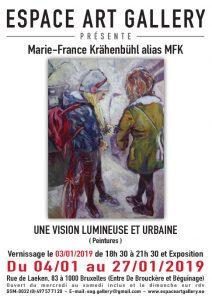 Affiche Marie-France Krähenbühl alias MFK jpg