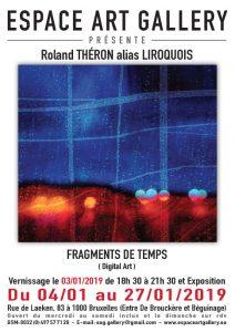 Affiche Roland THEěRON alias LIROQUOIS