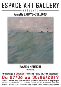 Affiche Annette LAHAYE-COLLOMB