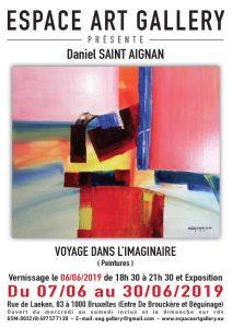 Affiche Daniel SAINT AIGNAN
